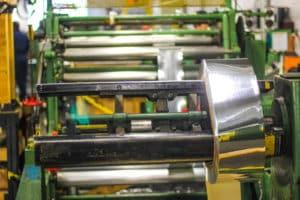 metal processing machine at Vortex Metals