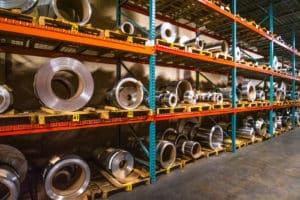 metal warehouse at Vortex Metals