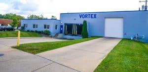 exterior of Vortex Metals building