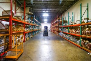 inventory of metal products at Vortex Metals