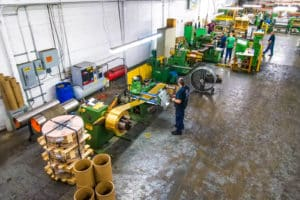 Vortex Metals processing machines