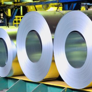 rolls of stainless steel